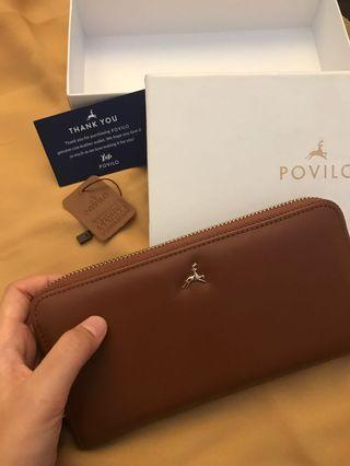 Albi wallet povilo (coklat)