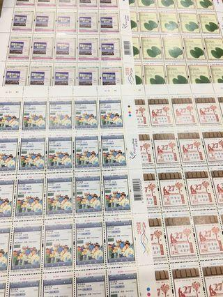 中國香港郵票 義工精神 發行日期:二0一一年三月二十九日
