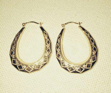 9ct Gold Earings