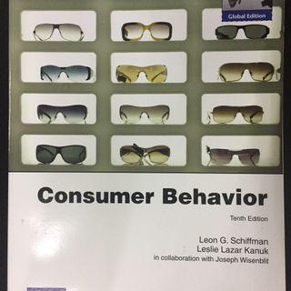 CONSUMER BEHAVIOR. SCHIFFMAN 10TH ED
