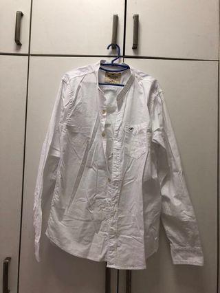 Hollister shirt white