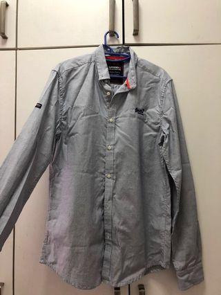 Superdry premium collar shirt
