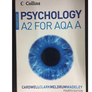 PSYCHOLOGY AZ FOR AQAA. 4TH ED