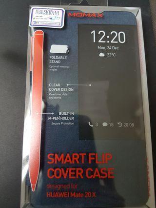 Huawei 原裝華為 Mate20X連筆 Smart Flip Cover Case手機摺合手機套