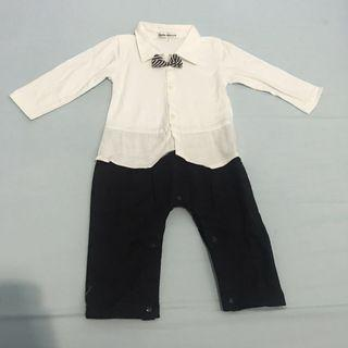 Suit overall umur 2-3th