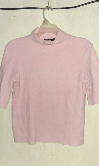Turtleneck Baby Pink Bershka ORIGINAL