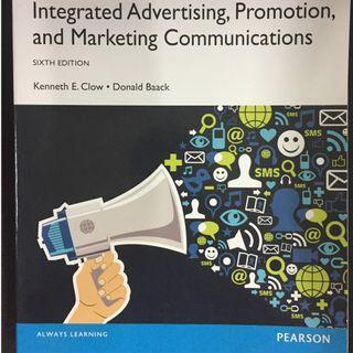 INTERGRATED ADVERTISING, PROMOTION AND MARKETING COMMUNICATION/ CLOW. 6TH ED