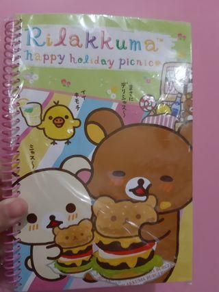 鬆弛熊notebook