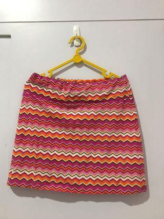 Tribal Mini Skirt