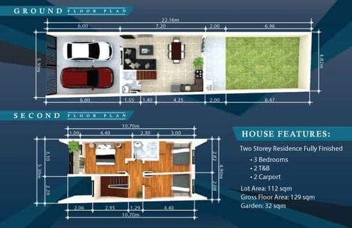 10% Downpayment House and Lot for Sale in Sumulong Highway Antipolo near Marcos Highway
