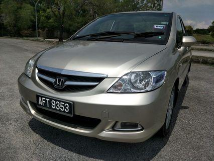 2006 honda city 1.5 v-tec (a) perfect condition, paddle shift, save petrol