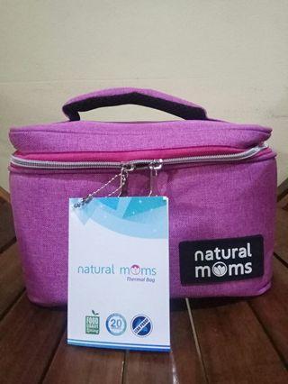 Thermal Bag/ Cooler Bag Natural Moms Single Frio Levita