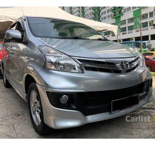 2012 Toyota Avanza 1.5 G (A) One Owner Bodykit Toyota Service Record