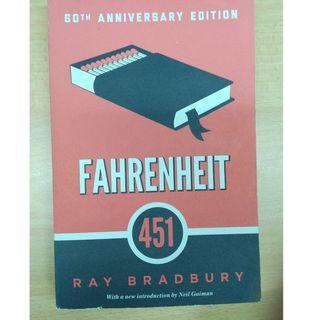 Fahrenheit 451 book by Ray Bradbury