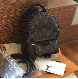 Preloved LV Mini Palmspring Mono 2018