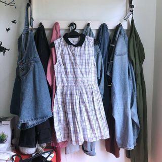 JACK WILLS Mini Plaid Dress (incl pos!) #APR75