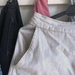ZARA Striped Trousers (incl pos!) #APR75