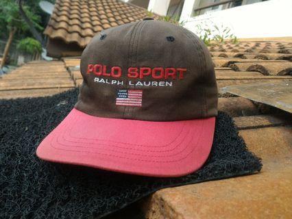 Vtg polo sport ralph lauren cap hat