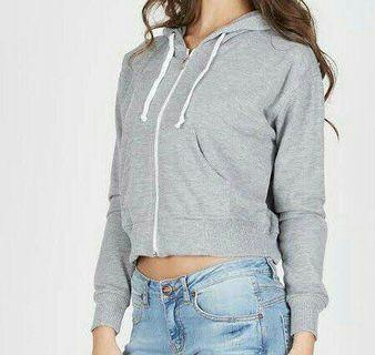 Jacket crop misty