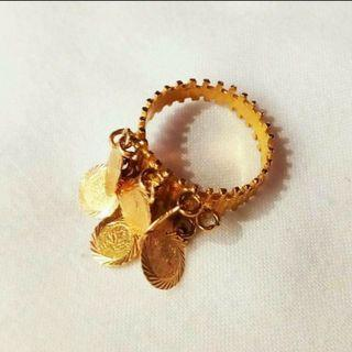 21K Gold Ring with 6 coins (Pawnable)