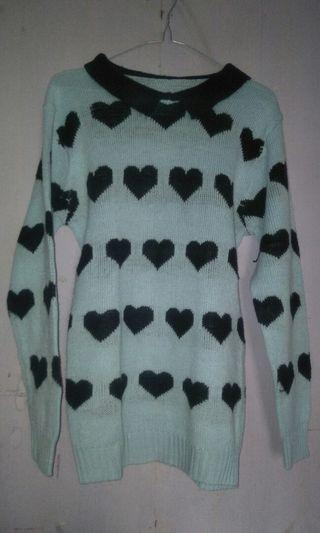 Sweater rajut love