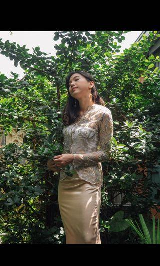 Ramelah Kebaya and Skirt