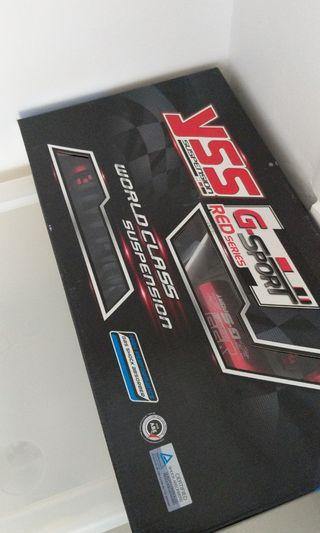 YSS Suspension Red Series for Xmax 300