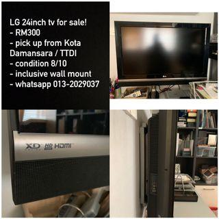 "LG 24"" tv for sale"