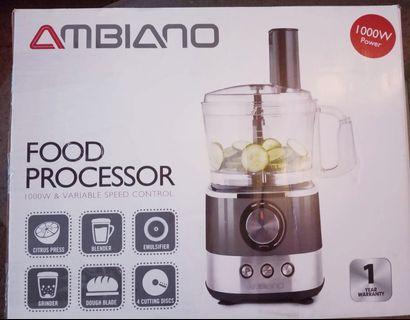 Food Processor Complete Set - BNIB
