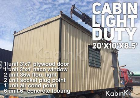 CABIN LIGHT DUTY NEW
