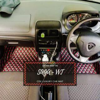 Proton Saga VVT 2018 Tailormade Luxury car mat