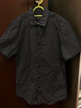 TOPMAN Flower Printed Short Sleeves Shirt