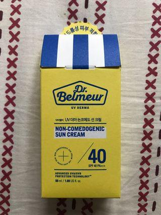 Dr. Belmeur Sun Cream (Non-Comedogenic)