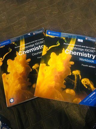 Cambridge IGCSE workbook+coursebook