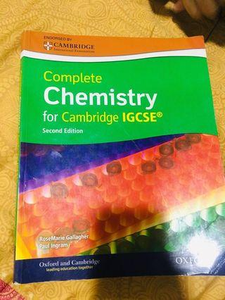 Chemistry IGCSE second edition