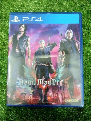Kaset BD PlayStation 4 PS4 Devil May Cry 5 DMC 5