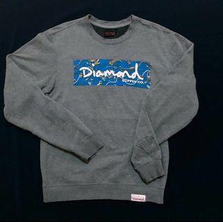 CREWNECK VINTAGE DIAMOND SUPPLY BOX LOGO ORIGINAL