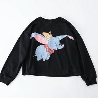 Dumbo Crop Sweater
