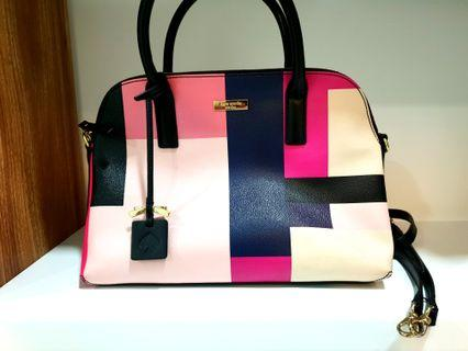 Original and Authentic Pre-loved Kate Spade Grant Street Color Block