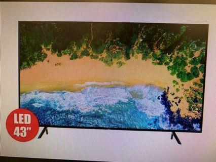 Samsung 4K UA43NU7100 電視機