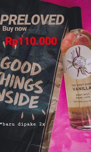 The body shop vanilla mist