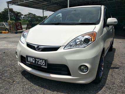 2012 Perodua Alza 1.5ezi (a) good condition eith airbag abs, save petrol