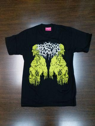 MISHKA COTTON KNIT TEE WITH PRINT (MADE IN USA)