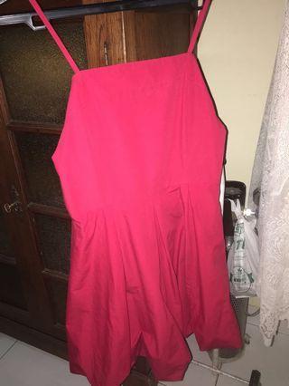 Party dress elegant red