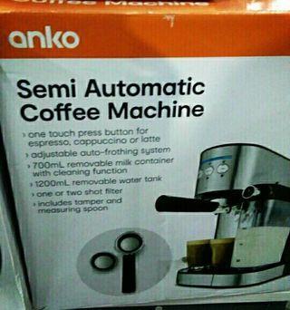 Semi Automatic Coffee Maker Machine