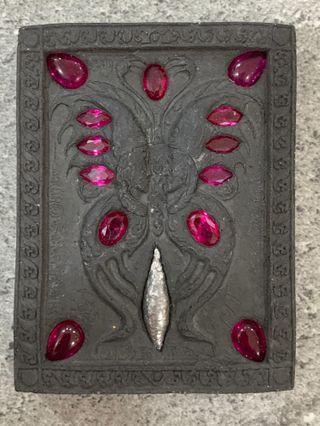 🚚 Kruba Krissana Blk B Butterfly amulet