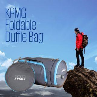 🆕KPMG Foldable Duffle Bag