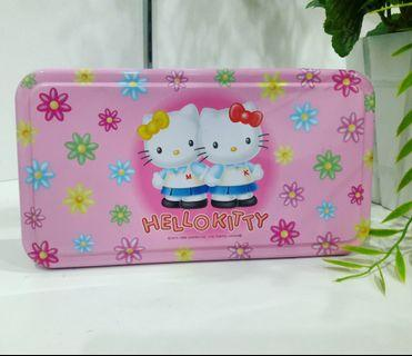 HELLO KITTY Pink Tokyo Japan Collectible  Multipurpose Tin Box