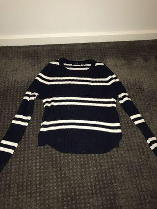 Piper striped knit