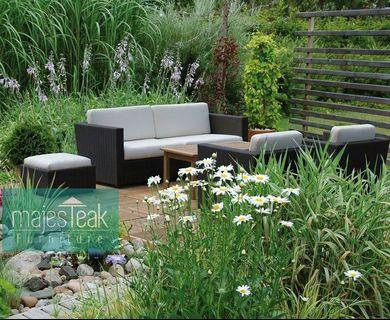 Outdoor Wicker Sofa Set - majesTEAK Furniture